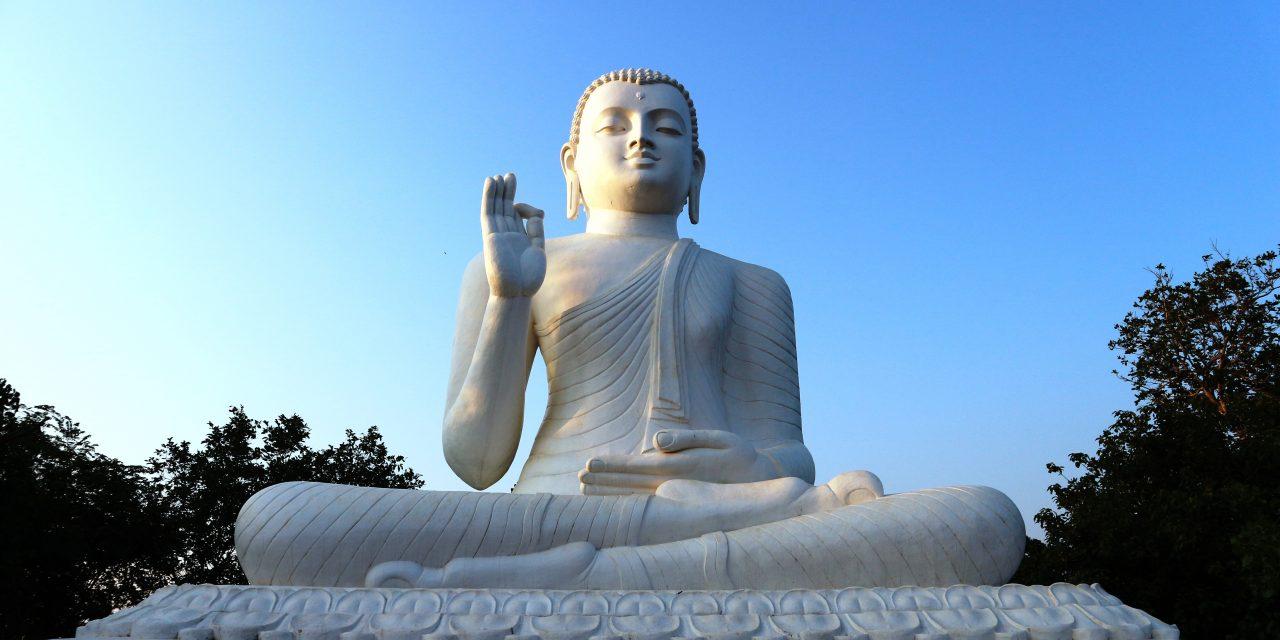 Mihintale Budda Statue
