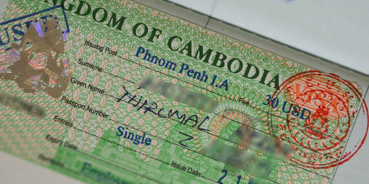 Xin Visa Campuchia bằng đường bộ