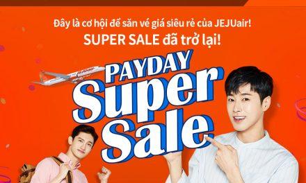 Jeju air tung khuyễn mãi cuối năm với giá 10 USD 1 chiều