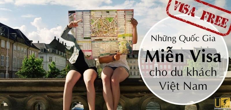 Tổng hợp các nước miễn ViSa cho người Việt Nam đi du lịch