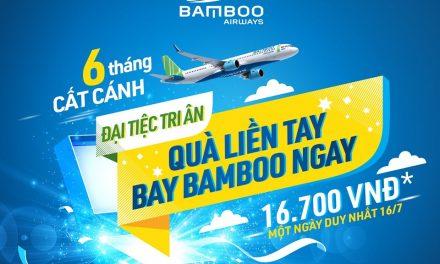 Đại Tiệc Tri Ân Bamboo Airways
