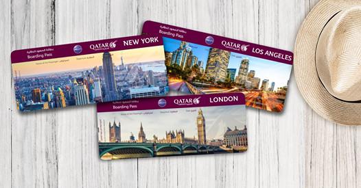 Vé rẻ Qatar đi Châu Mỹ và Châu Âu từ 598 USD (bao gồm thuế phí)