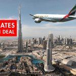 Bay Emirates 5 sao đến Dubai từ 8.139.000 khứ hồi + Free Visa và 2 đêm khách sạn