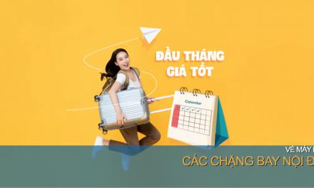 Vietnam Airlines khuyến mãi  đầu tháng 5 giá tốt 5 ngày từ 04/05/2020 tới 08/05/2020